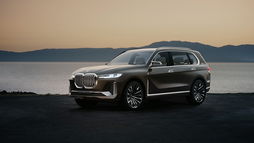 The Bmw Concept X7 Iperformance
